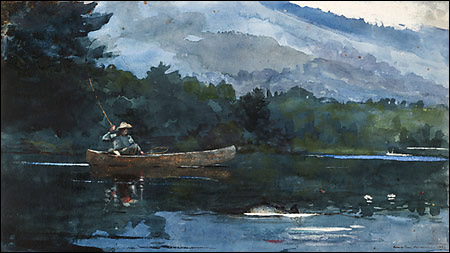campfire adirondacks by winslow homer Con'95 blowdown   banded eagle   adirondack 46erservationist the outdoor paintings by winslow homer a campfire and came to a profound realization.