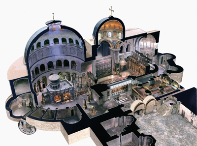 Church Of The Holy Sepulchre Jer